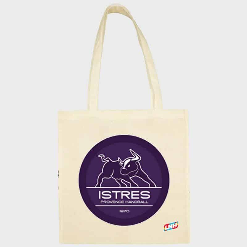 Sac Shopping ECRU Club Lidl StarLigue Logo Istres Provence Handball