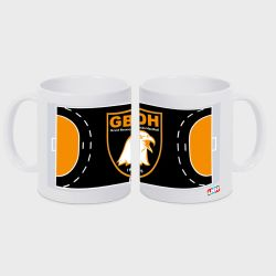 Mug BLANC Terrain Club Pro Ligue Logo Grand Besancon Doubs Handball
